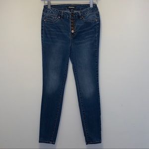 D. Jeans High Waisted Skinny Stretch Denim Jeans